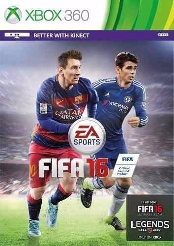 Jogo Fifa 16 2016 Midia Fisica Xbox 360 Original