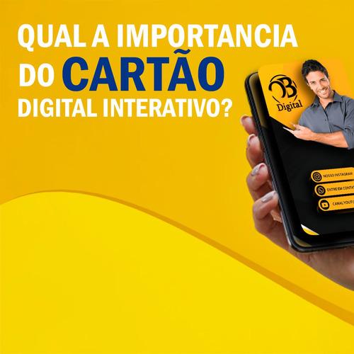 Imagem 1 de 6 de Cartão De Visita Digital Interativo