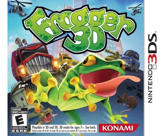 Jogo Frogger 3d (novo) Nintendo 3ds