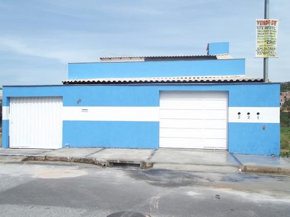 Vende-se Casa De 03 Quartos Nova