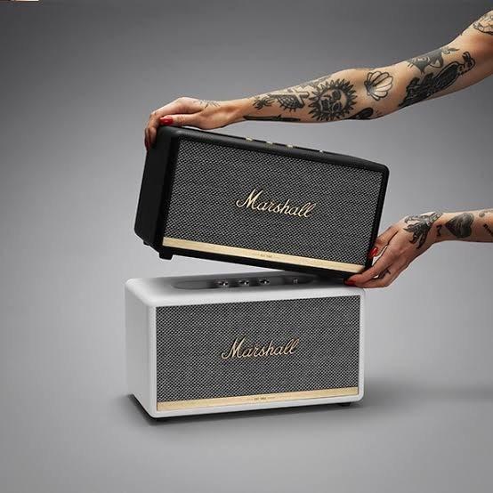 Marshall Stanmore Ii Caixa Som Amplificador Bluetooth
