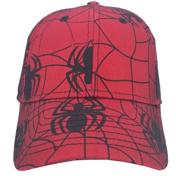 Boné Infantil Homem Aranha - Boné Spider K024