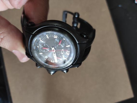 Relógio Oakley Holeshot Stealth Black Cronograph