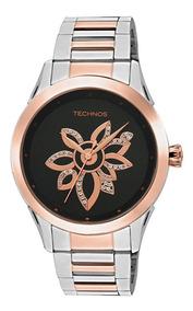Relógio Technos Feminino Trend 2036id/5p Prata Dourado