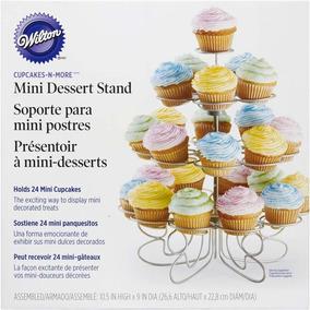 Base Mini Muffins Con 24 Monturas Wilton 307-250