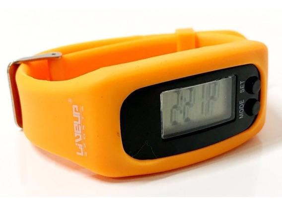 Relógio Pedômetro Monitor De Atividade E Calorias Live Up
