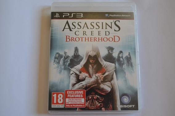Jogo Original Ps3 Assassins Creed Brotherhood