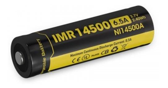 Bateria Nitecore 14500 Li-ion Imr De Alta Descarga Icr14500