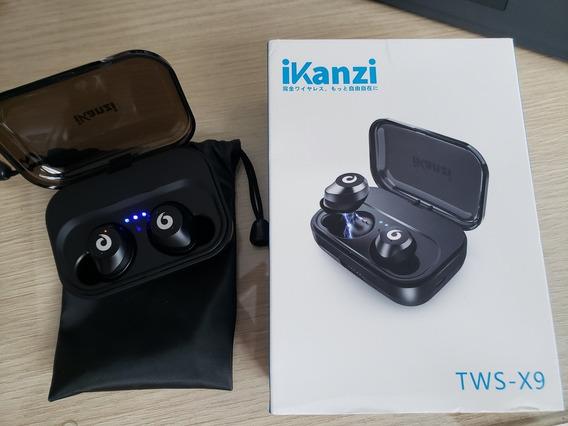 Fones De Ouvido Ikanzi X9 Sem Fio Bluetooth - A Prova D