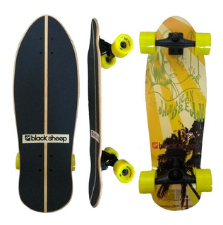 Skate Simulador Surf Black Sheep Maple Truck Torção Imported