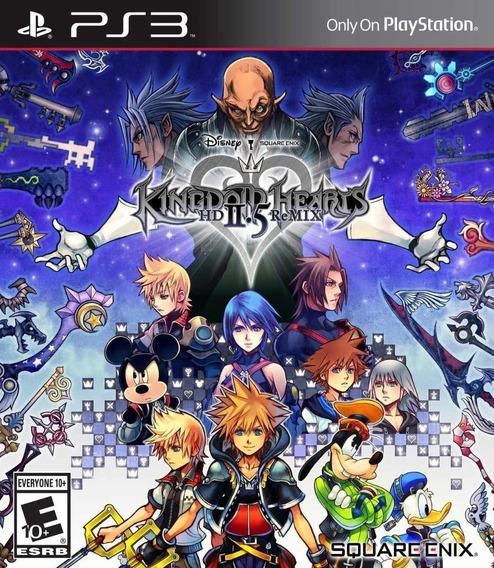 Kingdom Hearts Hd 2.5 Remix - Ps3 - Lacrado