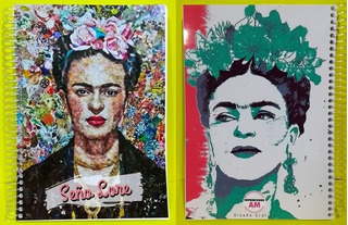 Kit Imprimible Frida Kahlo Agenda Docente 2020 - Pdf