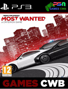 Need For Speed Most Wanted - Psn Ps3 - Midia Digital -