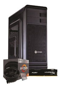 Pc Hunter R3 2200g A320m Hd 4gb Fury Ssd Kg120gb Bc350