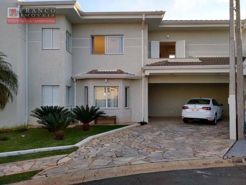 Aluga-se Ou Vende-se Casa Em Condominio - Ca0537