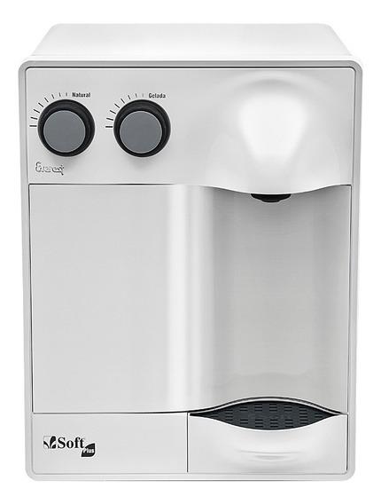 Purificador Água Refrigerado Por Compressor Soft Plus Branco - Uso Comercial 127v