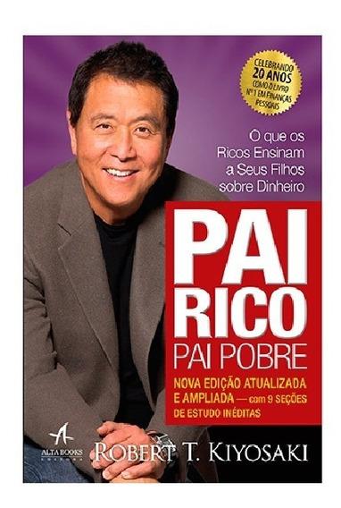 Livro Pai Rico Pai Pobre - Robert T. Kiyosaki | Novo