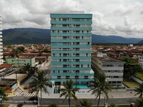 Imagem 1 de 12 de Apartamento Com 2 Dormitórios À Venda, 86 M² Por R$ 578.000,00 - Balneário Flórida - Praia Grande/sp - Ap2733