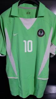Jersey Nike Nigeria 2002 Okocha Rarisimo