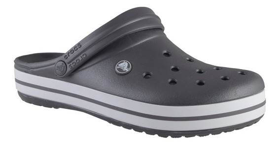 Crocs Crocband Hombre Gris