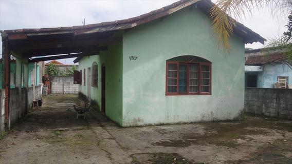Casa Em Mongaguá, Lote Inteiro! - C5424