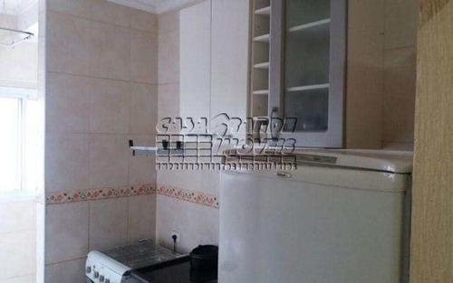 Imagem 1 de 10 de Excelente Apartamento Em Praia Grande, Balneário Maracanã - V4468