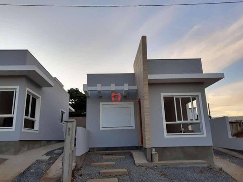 Casa À Venda, 50 M² Por R$ 229.900,00 - Morada Do Vale I - Gravataí/rs - Ca1312