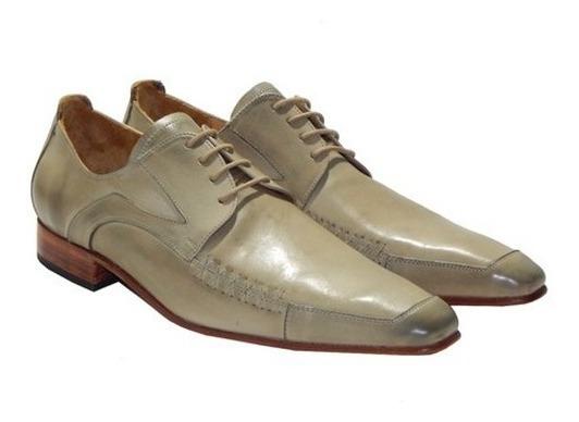 New Orleans Zapatos 100% Cuero Priamo Italy
