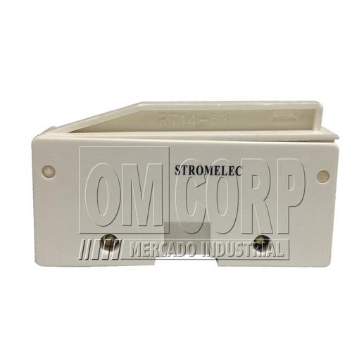 Base Porta Fusible Zr2 22 X 58 Rt-14 63a 380v Stromelec