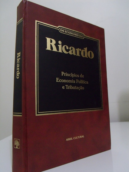 Livro - Os Economistas - Ricardo, P. Sraffa