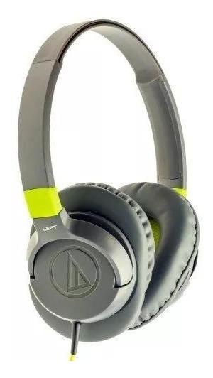Fone De Ouvido Com Microfone Audiotechnica Overear Verde