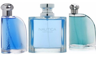 Paquete 100% Originales Nautica Blue + Classic +voyage 100ml
