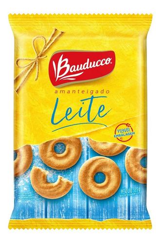 Biscoito Amanteigado De Leite Bauducco 335g