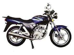 Moto Qmc 150-7b 150cc Año 2014 Color Rojo/azul Negro