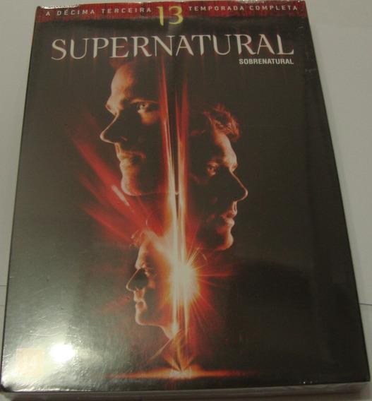 Box Supernatural 13ª Temporada Lacrado Dublado Dvd Original