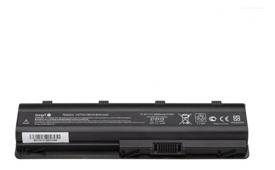 Bateria Notebook Hp 1000-1460br Mu06 G42-240br 9 Células