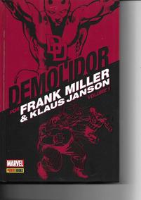 Demolidor Frank Miller & Klaus Janson Volume 1 - Capa Dura