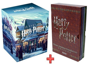 Livro Box Harry Potter 7 Volumes + Guia Cinematografico