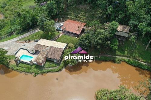 Chácara À Venda, 18000 M² Por R$ 890.000,00 - Bom Sucesso - São José Dos Campos/sp - Ch0124