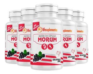 Morum Amora Miúra - 5x 120 Cápsulas - Melcoprol