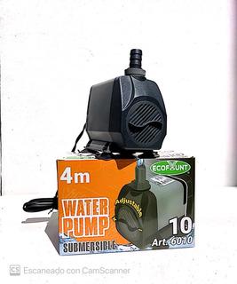 Bomba De Agua Para Fuente Sumergible Altura 4.0 Mtrs Pd