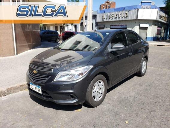 Chevrolet Prisma Joy 2018 Gris Oscuro 4 Puertas