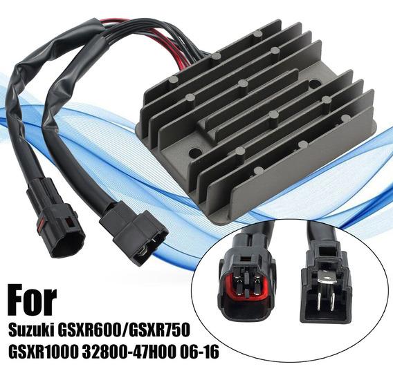 Regulador De Tensão Retificador Para Suzuki Gsxr600/gsxr750