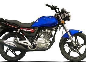 Motor 1 Diavolo 150 150cc Año 2018 Color Azul-negro-rojo