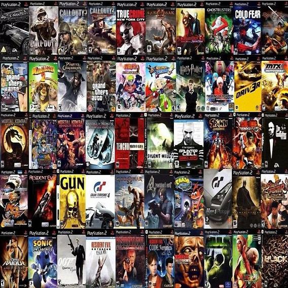 Jogos Ps2 Escolha (4 Dvds) Patch Pague 3 Mande Os Nomes