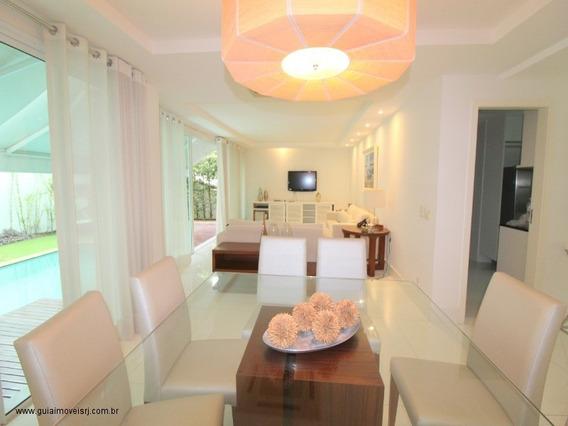 Linda Casa Em São Conrado No Condomínio Golf Village 100 % Mobiliada - Pgolf - 33610745