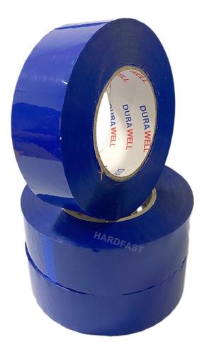 Fita Adesiva Azul Demarcação De Solo 3x Rolos De 200 Metros