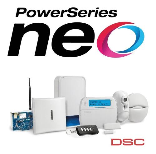 Kit Alarma Dsc Neo Hs-2032 Cableada O Inalámbrica Exclusiva