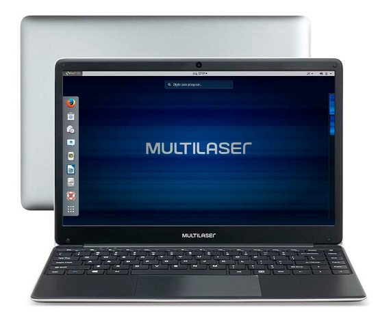 Notebook Multilaser Legacy Celeron 4gb 500gb 14.1 Hd Linux