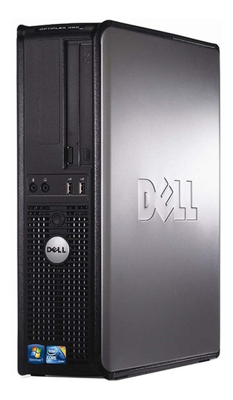 Computador Desktop Barato Cpu Dell 4gb Ram 500gb Hd - Usado